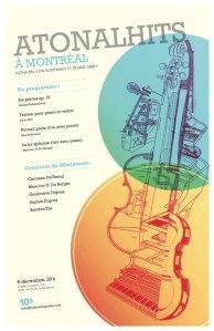 Atonal Hits a Montreal - Program